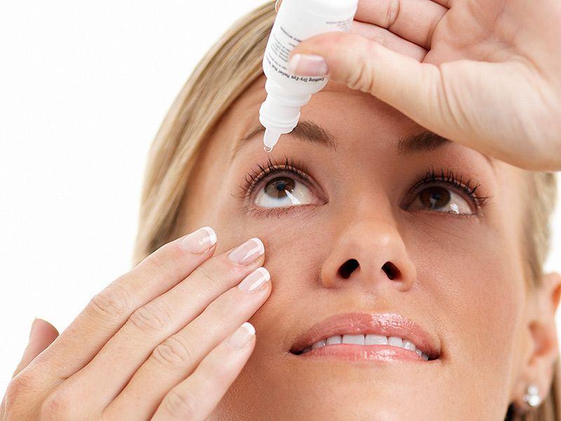 خطر نابینایی در اثر مصرف قطره های چشمی