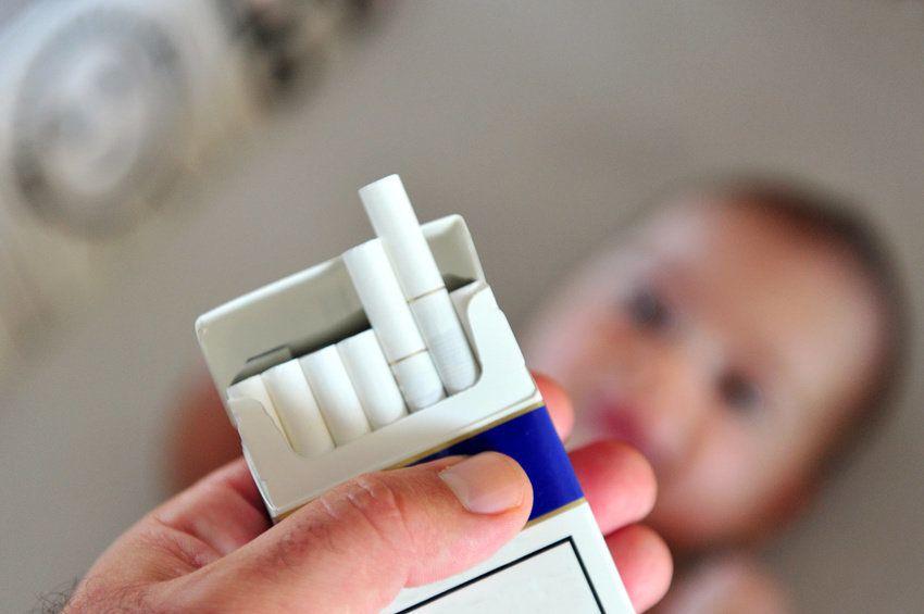 سیگار کشیدن در طول بارداری موجب چاقی کودک می شود