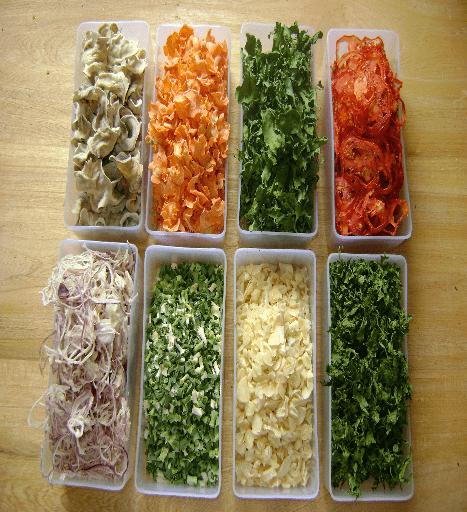 دنبال ویتامین در سبزیجات خشک شده نگردید!