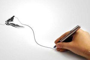 راز خط خطیهایی که گوشه کاغذ میکشیم