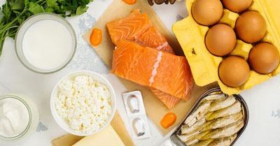 ۴ ماده غذایی برای کمک به افزایش ویتامین D بدن