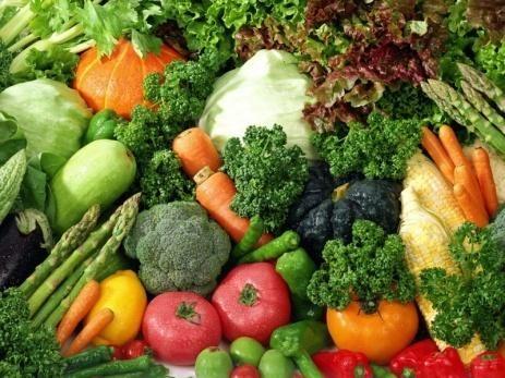 سبزی های تیره علاج کم خونی