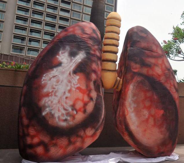 بیماران ریوی و آلودگی هوا