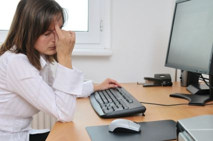 کار زیاد با رایانه و بیماری های خطرناک چشمی