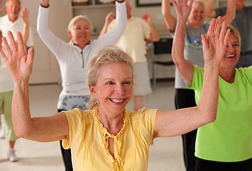 ورزش رمز حفظ و یا بازیابی توان حرکتی سالمندان