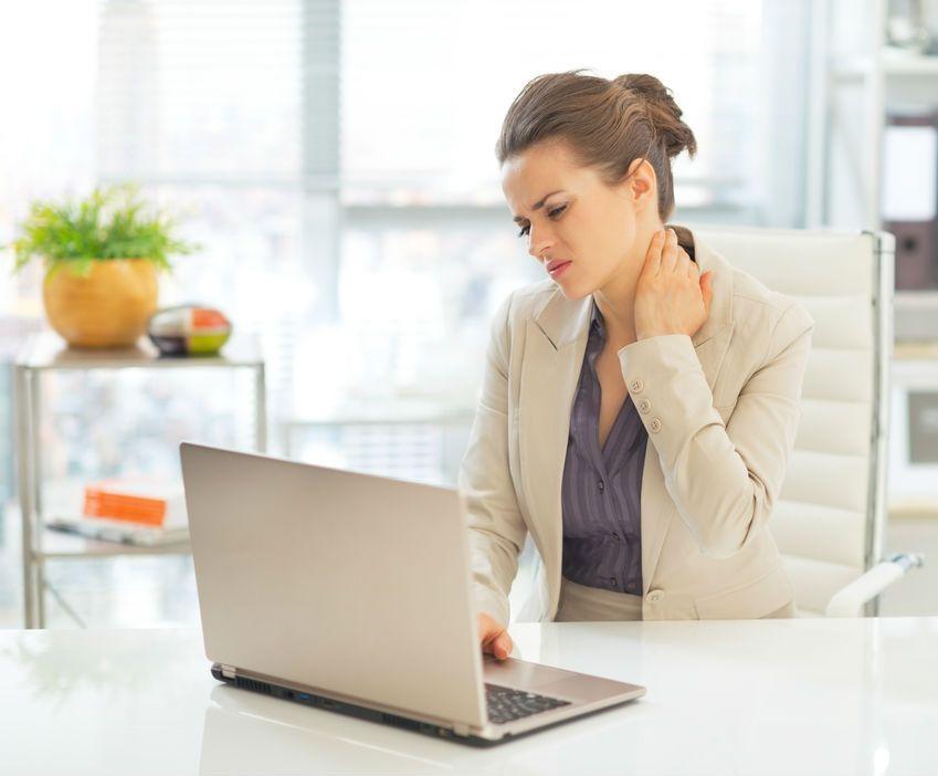 چند راهکار برای درمان گردن درد