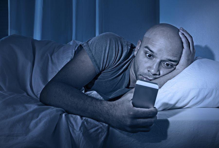 اسمارت فون ها عامل اختلال در خواب