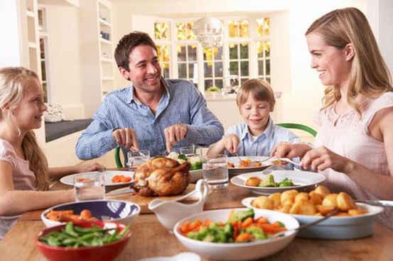 شام ساعات اول شب الگوی مناسب کاهش وزن