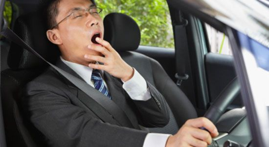 خواب آلودگی مهمترین عامل بروز حوادث جاده ای