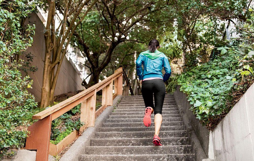 تقویت سلامت قلب با پله نوردی