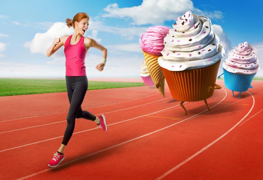 پرهیز از مصرف شیرینی برای رفع احساس گرسنگی بعد از ورزش