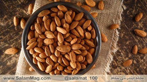 ضرروت مصرف بادام در افراد دیابتی