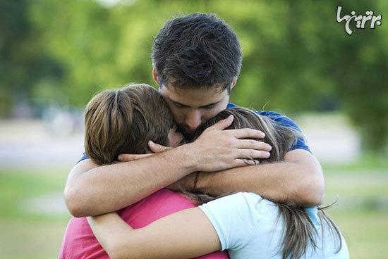 همه فواید در آغوش کشیدن