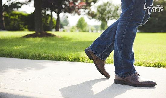 تاثیر پیاده روی روزانه بر جسم و ذهن