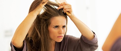 درمان موهای خشک به چند روش خانگی