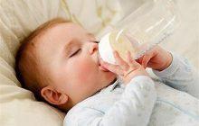مشکلات تغذیه نوزاد با شیشه شیر