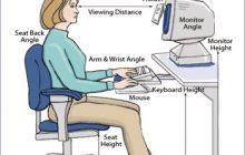 توصیه های مهم پزشکی هنگام کار با کامپیوتر