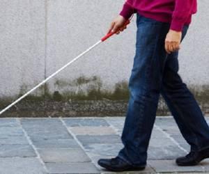 عصای جدید و منحصر به فرد برای نابینایان