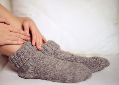 علل و درمان سردی پاها