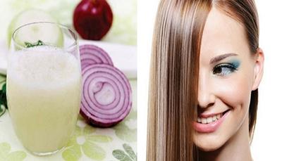 درمان ریزش مو با پیاز