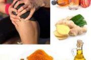 ۱۱ غذا برای خلاص شدن از درد زانو